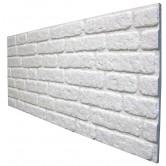 دیوارپوش طرح آجر - سفید - کد651
